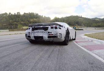 La McLaren 720S en piste #1
