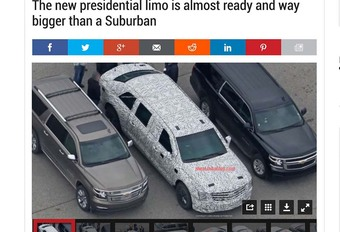 Trump heeft binnenkort een nieuwe Cadillac #1