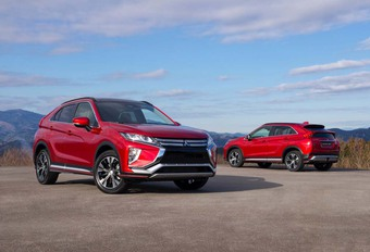 Mitsubishi : voici l'Eclipse Cross #1