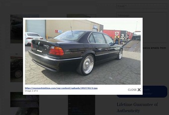 INSOLITE – La BMW dans laquelle Tupac a été assassiné en vente #1