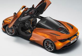 McLaren 720S : un premier cliché dévoilé par erreur  #1