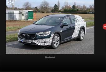 Opel Insignia Sports Tourer komt ook weer als Country Tourer #1