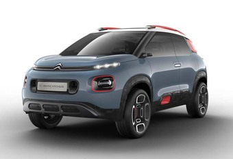 Citroën C-Aircross Concept : Picasso se met au vert ! #1