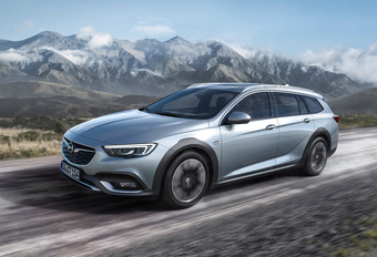 Opel Insignia opnieuw als Country Tourer 4x4 #1
