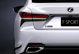 Lexus LS krijgt sportievere afwerking #1