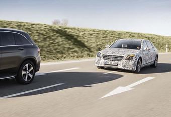 Mercedes : une Classe S relookée et plus autonome #1