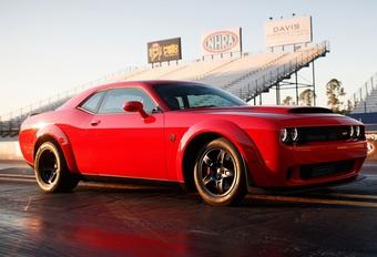 Deze Dodge is de snelst accelererende productieauto ter wereld!