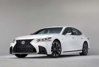 Lexus LS F Sport: de details #1