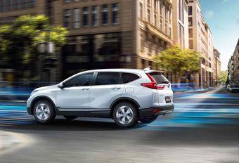 Honda : le CR-V passe à l'hybride #1