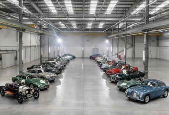 Familiereünie in de nieuwe fabriek van Aston Martin #1