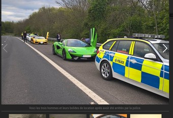 Supercars de mariage saisies par la police #1