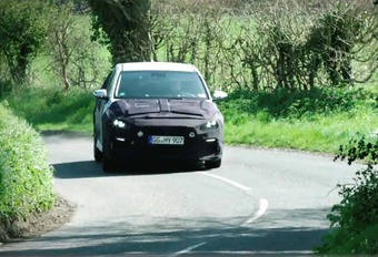 Hyundai i30N aan het testen in Engeland #1