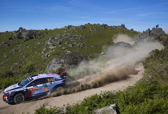 Thierry Neuville eindigt knap tweede in rally van Portugal #1