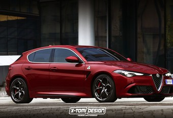 Alfa Giulietta : une première vision signée... X-Tomi  #1