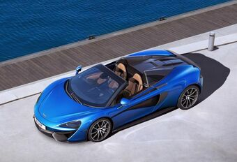 McLaren: la 570S est lâchée pour l'été #1