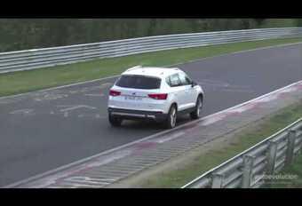 VIDEO Seat Ateca Cupra in topvorm op de Nürburgring #1