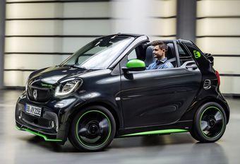 Smart : la Fortwo Cabrio passe à l'électrique  #1