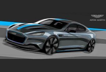 Aston Martin lanceert elektrische Rapid in 2019 #1