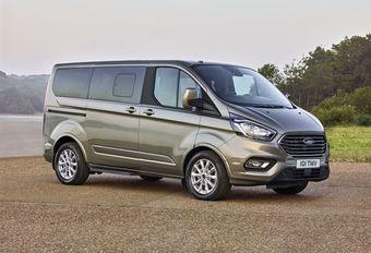 Ford Tourneo Custom: aanpassingen voor 2018 #1