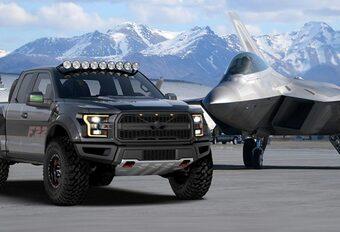 Ford F22 Raptor : l'unique pick-up « Top Gun »  #1