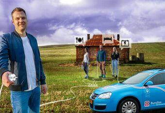 Nederlander wil de wereld rond in elektrische auto #1