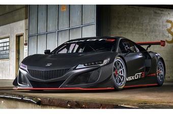 Honda NSX : voici la GT3 #1