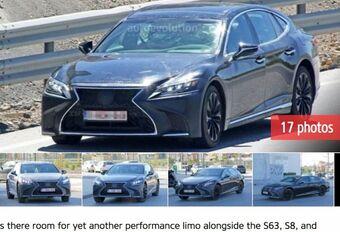Lexus LS: gespierde F-versie op komst? #1