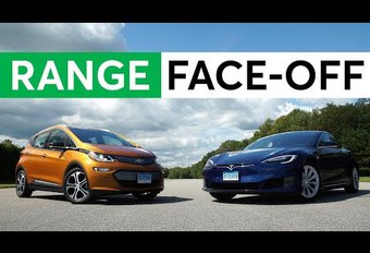 Chevrolet Bolt/Opel Ampera-e geraakt verder dan Model S #1