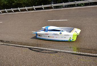 Belgische Punch 2 haalt 120 km/u op zonne-energie #1