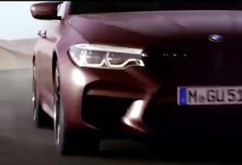 VIDEO – BMW M5:  Ultime teaser #1