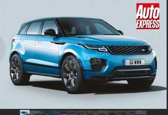 Range Rover : le futur Evoque prêt en 2019 #1