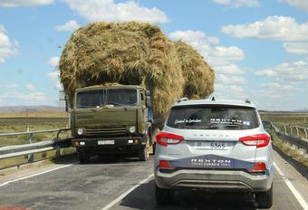 AutoWereld in de SsangYong Rexton Trans Eurasia Trail: valse start - Dagboek 1 #1