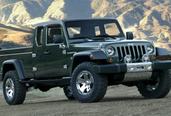 Jeep Scrambler : le pick-up Wrangler #1