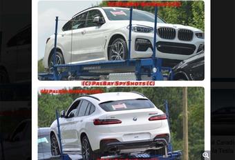 BMW X4 2018 : la 2ème génération déjà sur la route ! #1