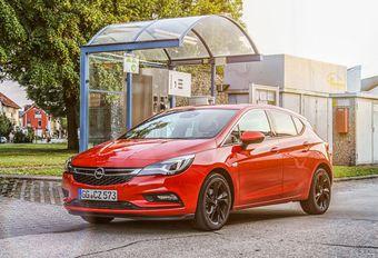 Opel Astra CNG : turbo au gaz naturel #1