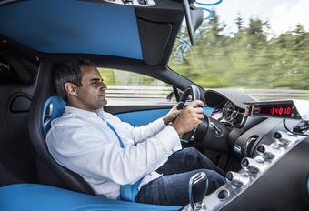 Bugatti Chiron van 0 naar 400 km/u en terug in 42 seconden