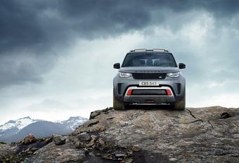 Land Rover Discovery SVX is extreme terreinbeul met een sporthart #1