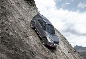 Land Rover Discovery SVX : œuvre du SVO #1