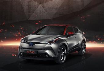 Toyota C-HR Hy-Power : le C-HR enfile son survet' #1
