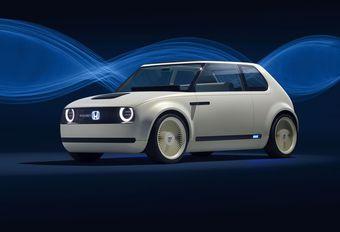 Honda Urban EV Concept : écran panoramique #1