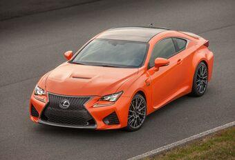 Lexus RC F facelift brengt nog meer spierkracht #1