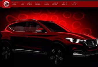 MG XS: nieuwe compacte SUV #1
