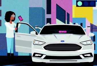 Ford s'associe avec Lyft pour la voiture autonome #1