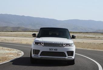 Vernieuwde Range Rover Sport als P400e Plug-in Hybrid #1