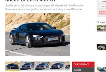 Audi R8 2,9 V6 2018 : Elle arrive ! #1