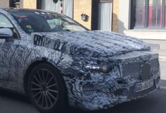 La future Mercedes Classe A surprise à Mons #1