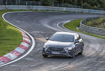 Opel Insignia GSi: demonstratie op de Nürburgring #1