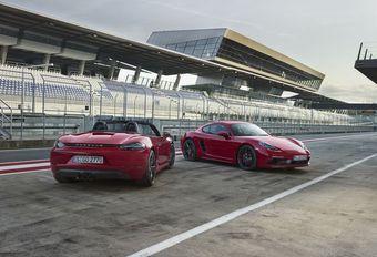 Porsche 718 Boxster en Cayman nu ook als snellere GTS #1