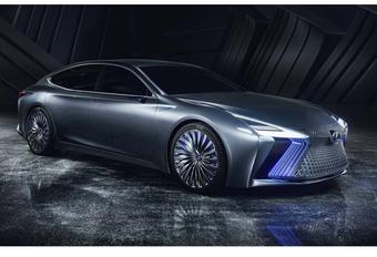Lexus LS+ concept : avec chauffeur intégré #1