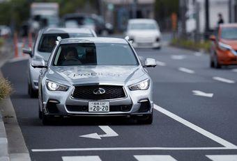 Nissan teste un prototype autonome à Tokyo #1